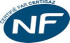 Marque NF certifiée par Certigaz